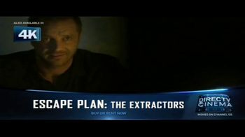 DIRECTV Cinema TV Spot, 'Escape Plan: The Extractors'