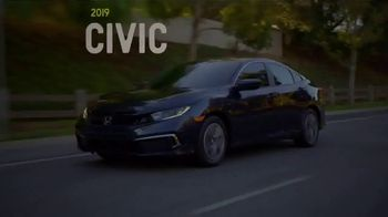 2019 Honda Civic TV Spot, 'Unforgettable Summer: One Tank Trips Sweepstakes' [T2] - Thumbnail 4
