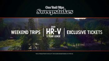 2019 Honda Civic TV Spot, 'Unforgettable Summer: One Tank Trips Sweepstakes' [T2] - Thumbnail 6