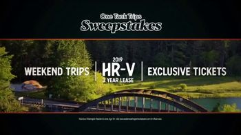 2019 Honda Civic TV Spot, 'Unforgettable Summer: One Tank Trips Sweepstakes' [T2] - Thumbnail 8