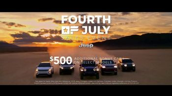Jeep Fourth of July Sales Event TV Spot, 'Freedom' [T2] - Thumbnail 8