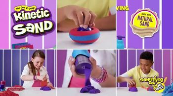 Kinetic Sand Sandisfying Set TV Spot, 'Comes With Ten Tools' - Thumbnail 10
