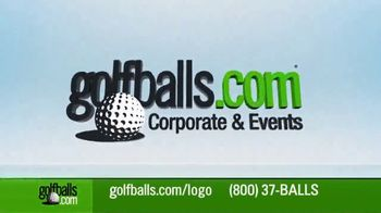 Golfballs.com TV Spot, 'Custom Logo Golf Balls, Perfect for Your Company or Event' - Thumbnail 1