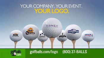 Golfballs.com TV Spot, 'Custom Logo Golf Balls, Perfect for Your Company or Event'