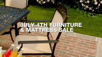 Macy's July 4th Furniture & Mattress Sale TV Spot, 'Sofas, Dining Sets & Adjustable Bases'