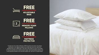 Mattress Firm 4th of July Sale TV Spot, 'Extended: Free, Free, Free Event'