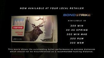 Norma USA Bondstrike TV Spot, 'Extreme Long Range Hunting Ammo' - Thumbnail 6