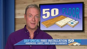 50 Floor TV Spot, 'NBC 2: Free Installation'