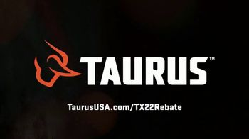 Taurus TX22 Sizzling Summer Rebate TV Spot, 'All Models' - Thumbnail 9