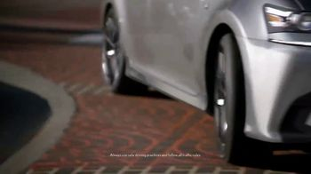 Lexus GS 350 F Sport TV Spot, 'Start' Featuring Henry Simmons [T1] - Thumbnail 3