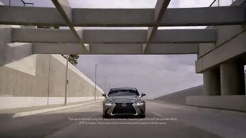 Lexus GS 350 F Sport TV Spot, 'Start' Featuring Henry Simmons [T1] - Thumbnail 6