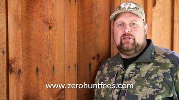 Chappell Guide Service Zero Hunt Fees Program TV Spot, 'The Land of Monster Bulls'