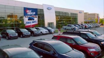 Ford Great American Sales Event TV Spot, 'Spirit of Independence'  [T2] - Thumbnail 4