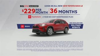 Toyota Big One Sales Event TV Spot, 'Easier Than Easy' [T1] - Thumbnail 8