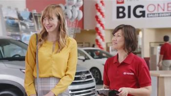 Toyota Big One Sales Event TV Spot, 'Easier Than Easy' [T1]