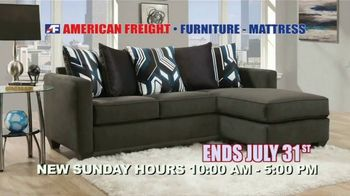 American Freight Red Hot Savings TV Spot, 'Mattress Sets and Sectionals' - Thumbnail 8