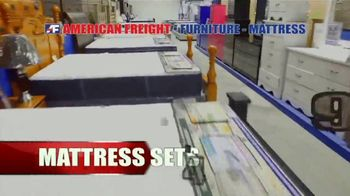 American Freight Red Hot Savings TV Spot, 'Mattress Sets and Sectionals' - Thumbnail 2