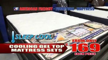 American Freight Red Hot Savings TV Spot, 'Mattress Sets and Sectionals' - Thumbnail 3