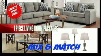 American Freight Red Hot Savings TV Spot, 'Mattress Sets and Sectionals' - Thumbnail 4