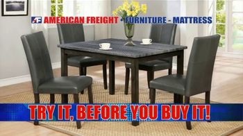 American Freight Red Hot Savings TV Spot, 'Mattress Sets and Sectionals' - Thumbnail 6