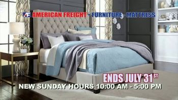 American Freight Red Hot Savings TV Spot, 'Mattress Sets and Sectionals' - Thumbnail 7
