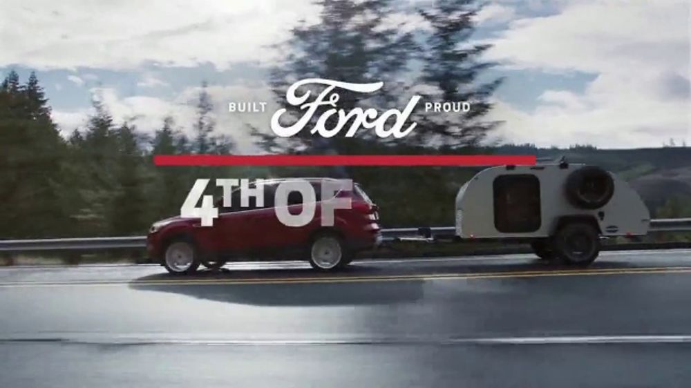 Red White And Blue Auto Sales >> Ford 4th Of July Sales Event Tv Commercial Break Out The Red White And Blue Oval T2 Video