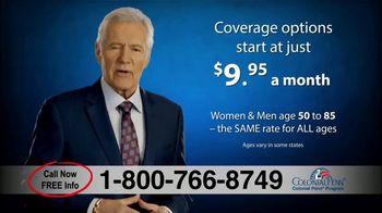 Colonial Penn Guaranteed Acceptance Whole Life Insurance TV Spot, \'Look Closely\' Featuring Alex Trebek