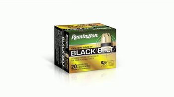 Remington Golden Saber Black Belt TV Spot, 'An Indestructable Line' - Thumbnail 4