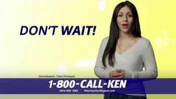 Kenneth S. Nugent: Attorneys at Law TV Spot, 'Every Day You Wait' - Thumbnail 2