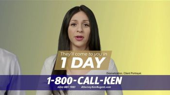 Kenneth S. Nugent: Attorneys at Law TV Spot, 'Every Day You Wait' - Thumbnail 7
