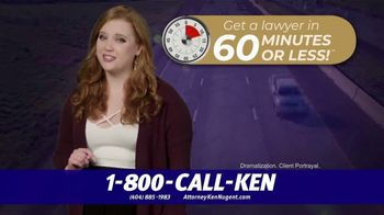 Kenneth S. Nugent: Attorneys at Law TV Spot, '60 Minutes or Less' - Thumbnail 3