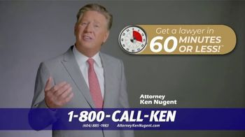 Kenneth S. Nugent: Attorneys at Law TV Spot, '60 Minutes or Less' - Thumbnail 5