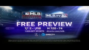 DIRECTV MLB Extra Innings TV Spot, 'Every Play Counts: Free Preview' - Thumbnail 10