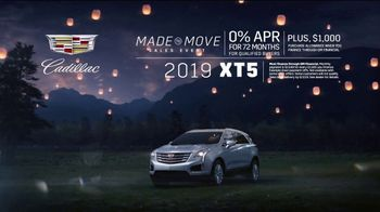 Cadillac Made to Move Sales Event TV Spot, 'Made for Summer: XT5' Song by French 79 [T2]