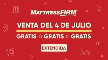 Mattress Firm Venta del 4 de Julio TV Spot, 'Gratis, gratis, gratis' [Spanish] - Thumbnail 1