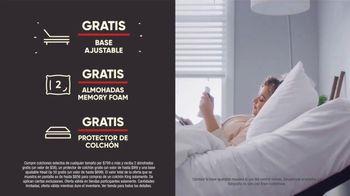 Mattress Firm Venta del 4 de Julio TV Spot, 'Gratis, gratis, gratis' [Spanish] - Thumbnail 2