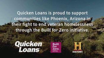 Quicken Loans TV Spot, 'History Channel: Helping Homeless Veterans'