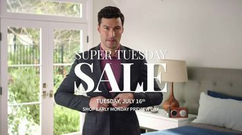 JoS. A. Bank Super Tuesday Sale TV Spot, 'July 2019: Suits & Dress Shirts' - Thumbnail 1
