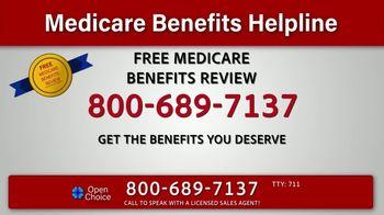 Medicare Benefits Helpline TV Spot, 'Get All the Benefits to Meet Your Needs'