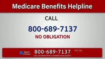 Medicare Benefits Helpline TV Spot, 'Get All the Benefits to Meet Your Needs' - Thumbnail 6