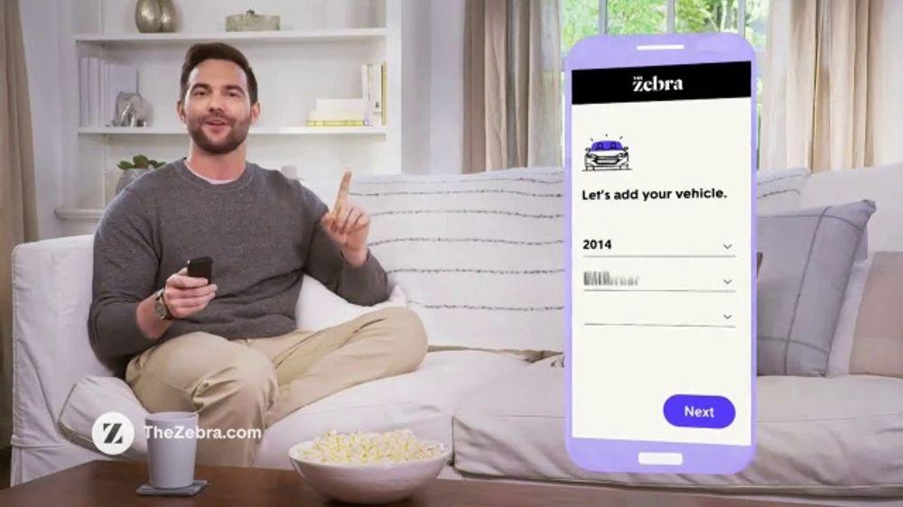 The Zebra TV Commercial, '272 Billion Ads'