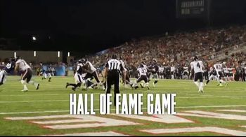 Pro Football Hall of Fame TV Spot, '2019 Hall of Fame Game' - 53 commercial airings