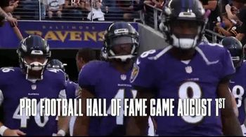Pro Football Hall of Fame TV Spot, '2019 Hall of Fame Game'