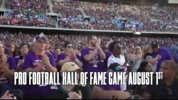 Pro Football Hall of Fame TV Spot, '2019 Hall of Fame Game' - Thumbnail 4