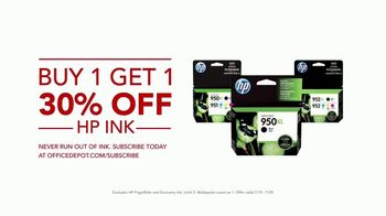 Office Depot TV Spot, 'Worry-Free: HP Ink' - Thumbnail 6