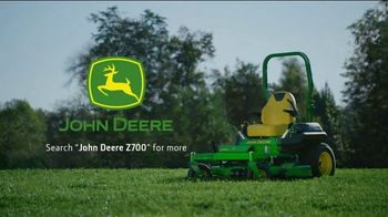 John Deere Z700 Series ZTrak Mower TV Spot, 'Run With Us' - Thumbnail 8