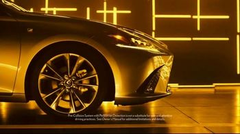 Lexus Golden Opportunity Sales Event TV Spot, 'Safety' [T1]