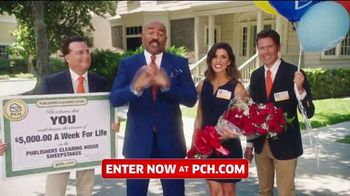 Publishers Clearing House TV Spot, '$5,000 a Week for Life: Last Chance' Featuring Steve Harvey - Thumbnail 4