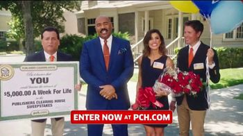 Publishers Clearing House TV Spot, '$5,000 a Week for Life: Last Chance' Featuring Steve Harvey - Thumbnail 5