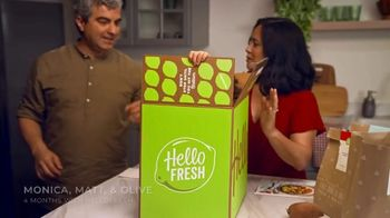 HelloFresh TV Spot, 'The Glicken Family' - Thumbnail 1